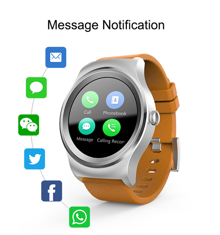 MTK 2502C Smartwatch for ios & Android Mobile Phone GT08/U8/DZ09 Smartwatch