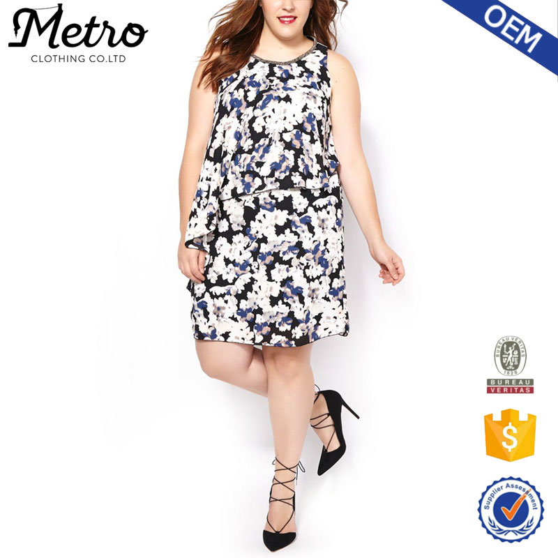 Popular One Piece Day Amp Night Dresses For Fat Women Mini Simple