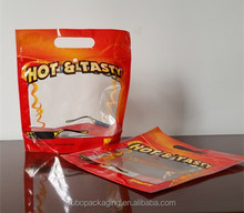 Gravure printing Anti-fog plastic bag for hot chicken