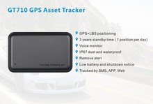 Long battery life gps tracking device Concox GT710 for personal/vehicle/assets gps tracker