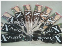 wholesale price 82 inch long x-pression braiding hair for braid synthetic hair