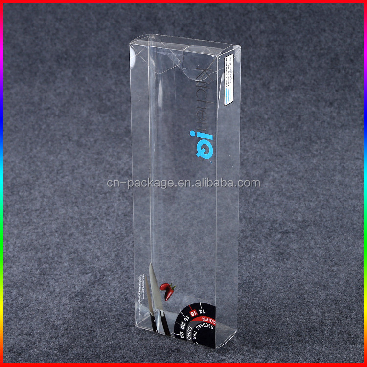 fruit knife clear PVC/PET plastic packaging box