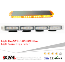 38W AUTO LED WARNING LIGHTBAR FOR VEHICLE/AMBULANCE/WRECKER.FIRE TUUCK CARS CE certification