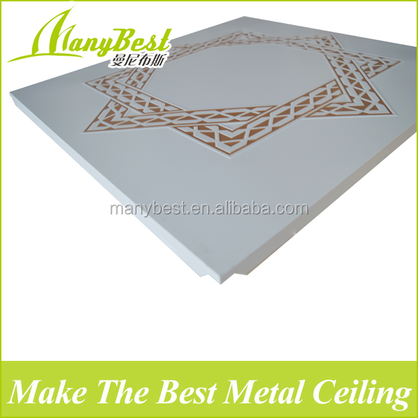 2017 Hotsale New Aluminum Types of False Ceiling Boards