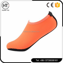 Wholesale neoprene beach aqua socks diving shoes sand walking shoes