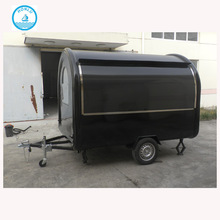 New arrival wood food cart/electric food truck/rolling food cart for sale