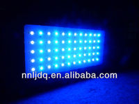 reef fish tank lights120watt dimmable led aquarium lighting 3w led for fish and coral reef white blue with black shell