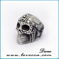 New design adjustable silver elastic rings for women
