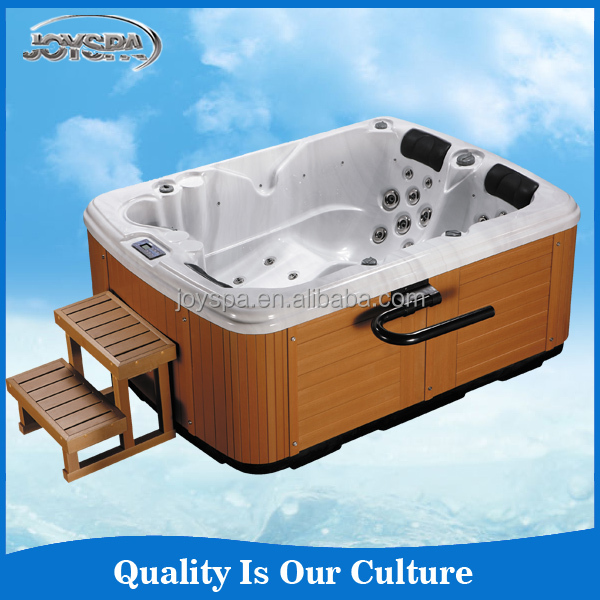 Wholesale Hot Luxury Freestanding Outdoor Whirlpool Sex Family Spa Tub