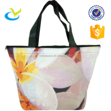 Wholesale handle shopping plastic custom printing polyester bag