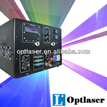 2W RGB Laser projection holographic stage laser star projector