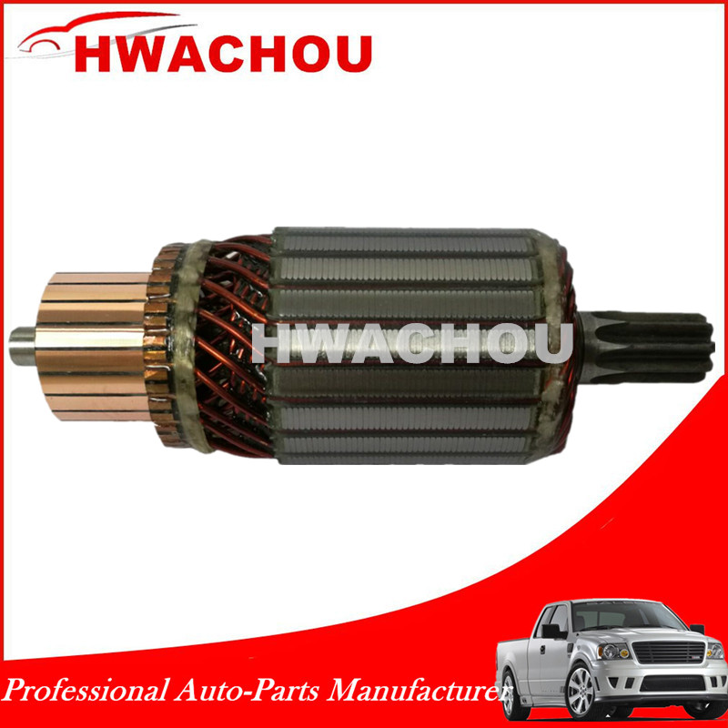 Starter motor parts, armature for Nippondenso 2816026040 2816026070
