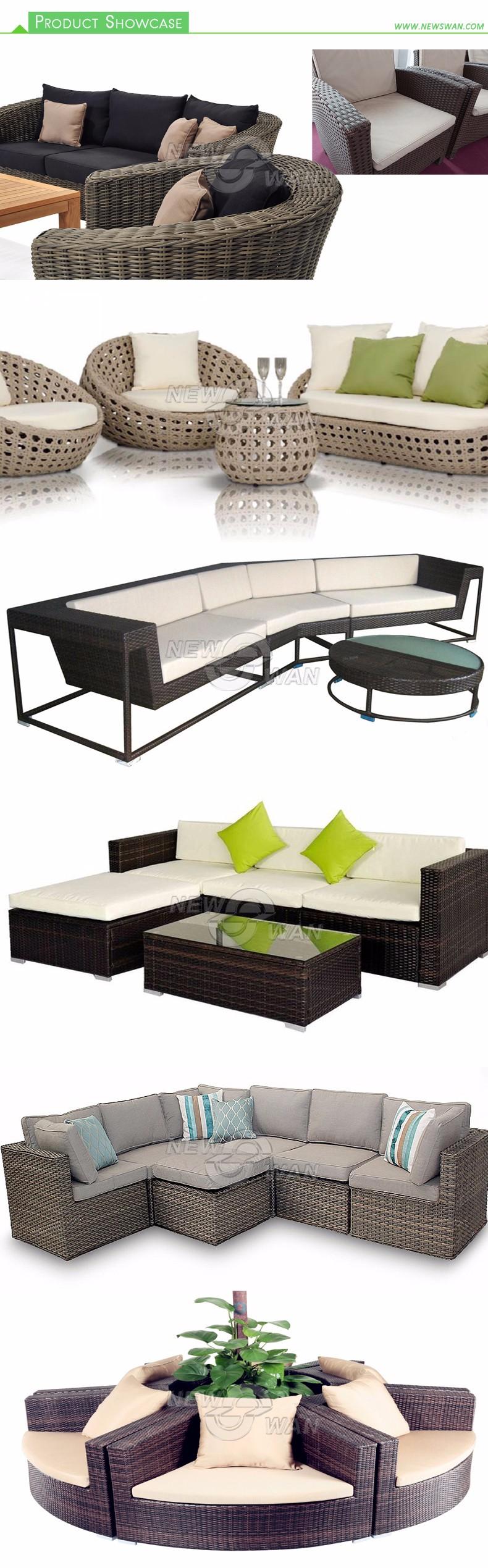 Rattan Sofa Outdoor Semi Circle Furniture Buy Rattan