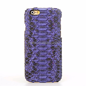 Genuine Python Skin Custom Logo Python Case For iPhone 6/7/8