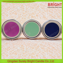 Travel Candles/ Tin Box Scented Candle Making Factory