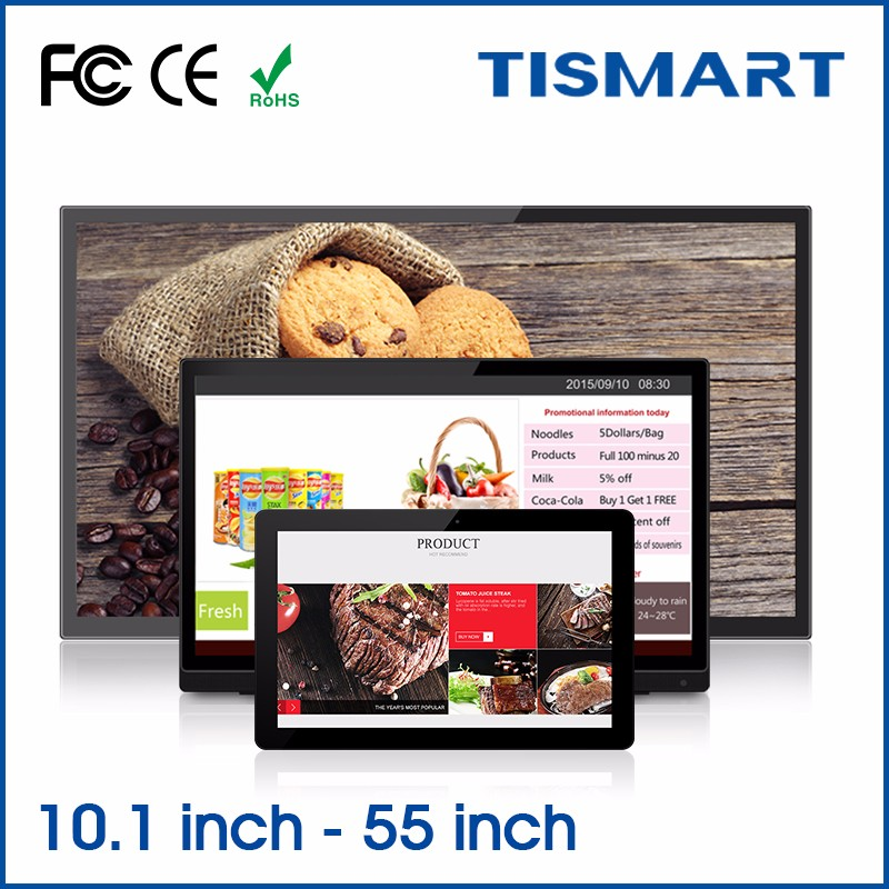 "Best quality 10""to 55"" touch screen digital advertising quad core/octa core pc tablet android 6.0"