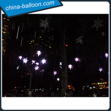 Fantastic inflatable led star/ inflatable solar led lights/ lighted inflatable outdoor decorations