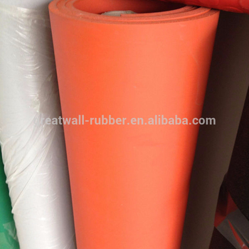 1-50mm thickness Thermal Insulation vulcanized Sponge Rubber Sheet