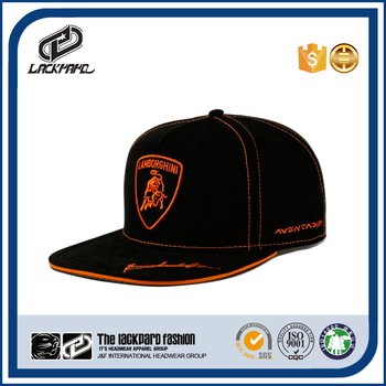 Lackpard custom cheap hip hop cap with flat embroidery