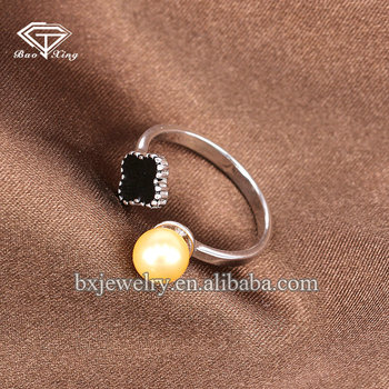 Importing jewelry from china birthday gift handcrafted charm four-leaf clover ring