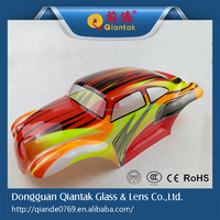 2015 New Style 1:10 colored rc car PVC body shell