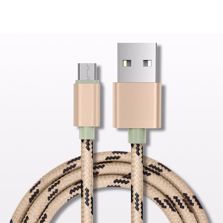 High quality nylon braided micro usb cable best selling products