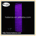 fiber optic curtain lighting with a frame,2m height,0.8m width