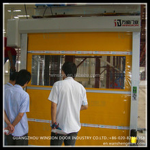 China pvc product high peformance cheap price interior plastic fast roll up door