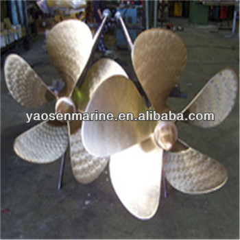fixed pitch marine propeller