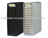 SharkCopier 1 to 11 LightScribe SATA DVD / CD Duplicator with Built-in 250GB Hard Drive