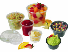 0.75oz 1oz 2oz 3.25oz 4oz 5.5oz Disposable Clear PP Deli Portion Cup with Lid