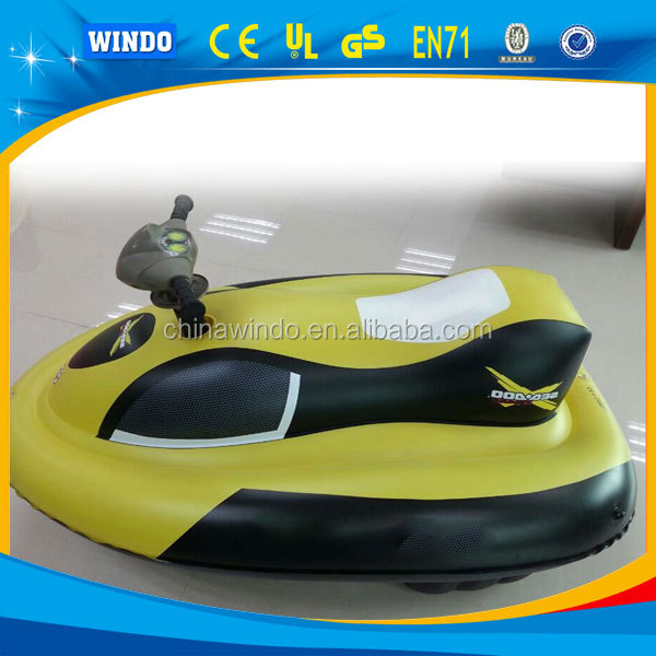 inflatable motorized jet ski for pool