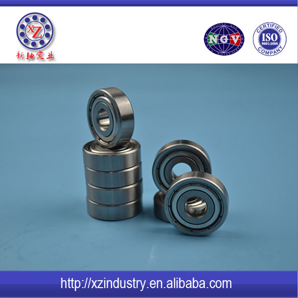 High precision thin 16mm x 5mm x 5mm Single Row carbon steel deep groove radial ball bearing 625ZZ
