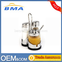 Eco-Friendly Feature LFBG stainless steel+ABS oil and vinegar cruet set