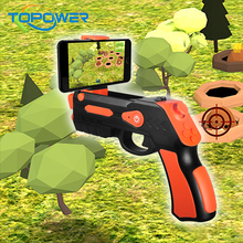 2017 Christmas Gift Electronic Target Shooting Game Gun TV Play Game For Children