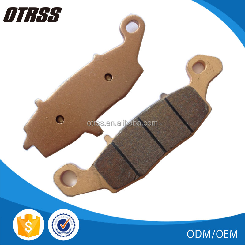 Motorcycle Double-H Sintered Brake Pads FA229HH for kawasaki Vulcan 800 Vulcan 900 Z750