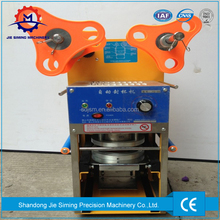 Automatic pearl plastic cup lid sealing machine For Bubble Tea