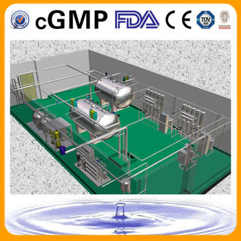 Injection Pure Water System(FDA&cGMP Standard)