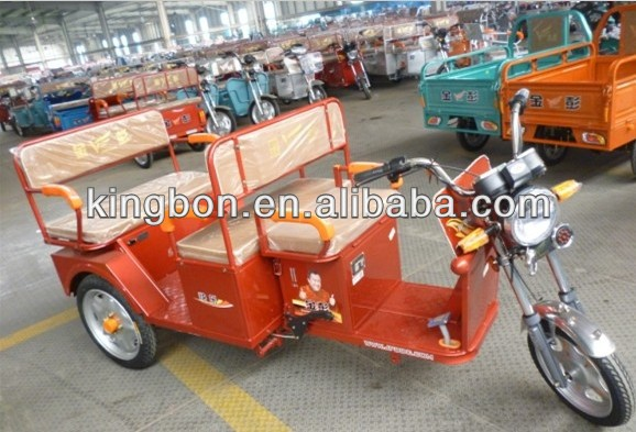 650W three wheel passenger electric rickshaw