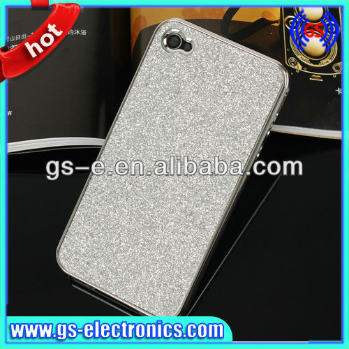 Hot sell Shimmer Loose powder hard case for iphone 4G 4s