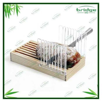 bamboo bread Slicer and cutting board
