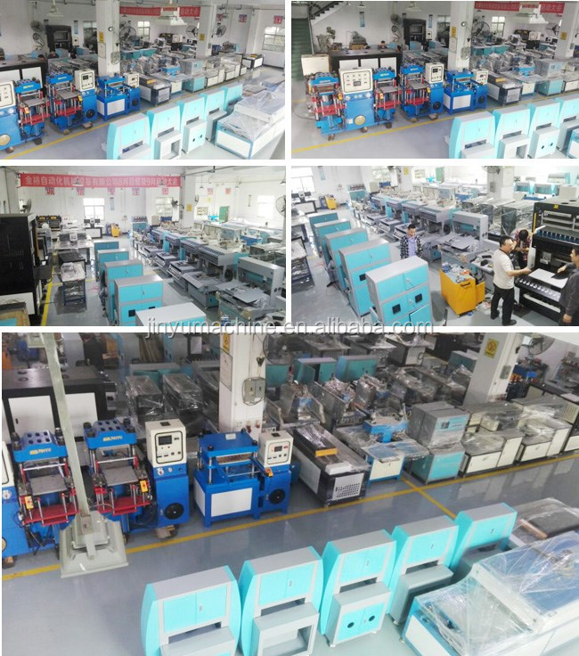 Silicone labels embossing machine on garment