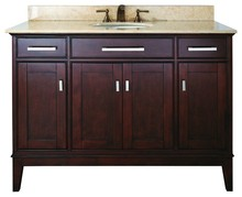 Floor Mounted Bathroom Vanity / Double Sink Bathroom Cabinet / Low Price Bathroom Vanity Combo