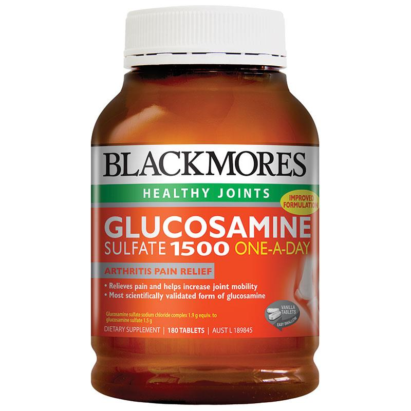 Blackmores Glucosamine Sulfate 1500 (One a day) Health Joints, Arthritis pain relief