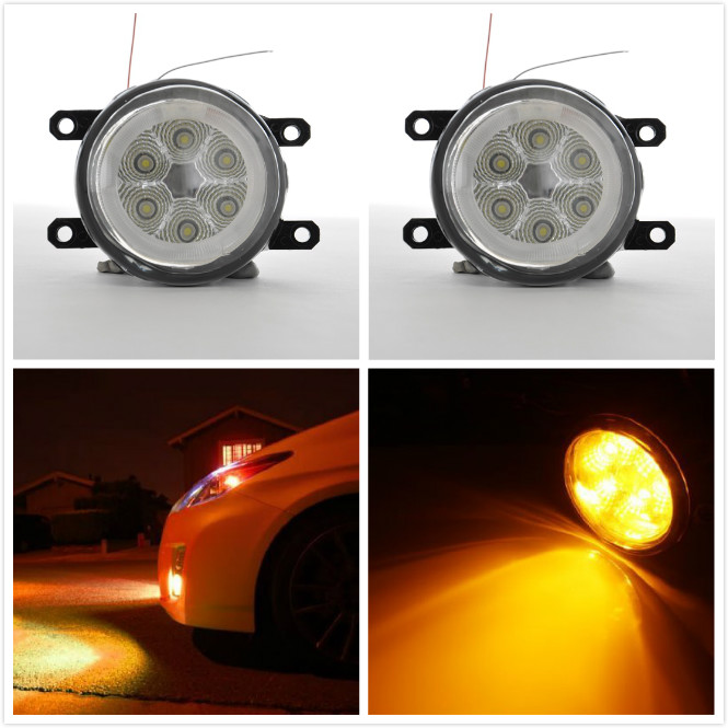 LED Daytime Running Lights Car DRL Fog Lamp For Chevrolet Captiva 2014 2015 2016