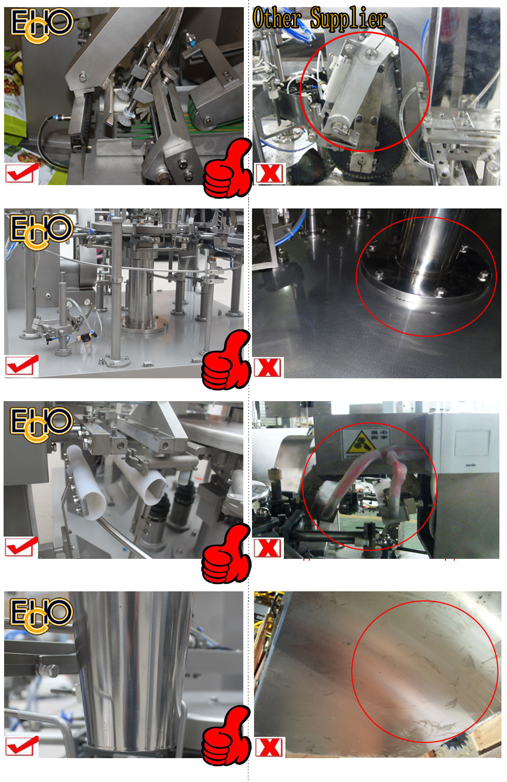 New cheap multifunction Intelligent rotary pre-bagged pouch-Counting full automatic potato chips Carousel type Packing Machine