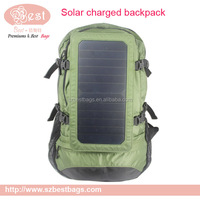 wholesale solar rechargeable backpack bag for charging