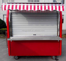 New Year Promotion!!! Mobile smoothies vending cold drinks food carts booth, food car coffee truck kiosk Chinese snack cart