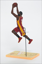 12 inches NBA stars figures for display sports man action figurine