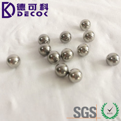 Factory price washing machine steel ball parts 304 stainless steel ball